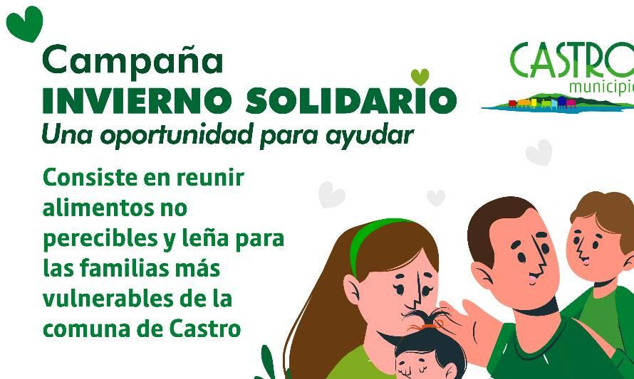 Castro Municipio e Iglesias Evangélicas se unen en campaña Invierno Solidario