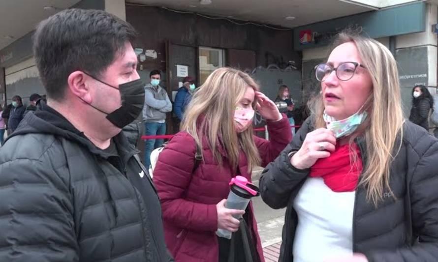 Sin reajuste: trabajadores de microempresas del BancoEstado iniciaron movilización