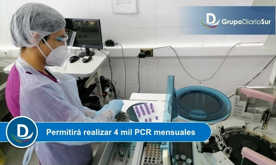 Puerto Montt habilitará Laboratorio de Biología Molecular